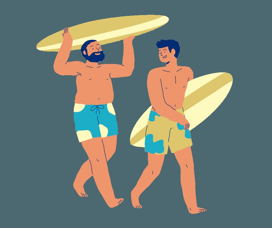 Paddeln trainieren See